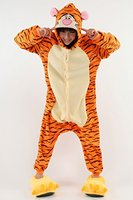 Tiger Unicorn Onesie Costume Unisex Adult Animals Onesie Cute Sleepwear Sleepsuit Women Men Wintrt Nightie Hoodie
