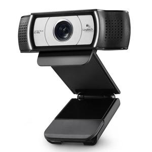 Image 3 - オリジナルロジクール C930c HD スマート 1080 720p ウェブカメラでカバーコンピュータツァイスレンズ USB ビデオカメラ 4 時間デジタルズーム Web カム