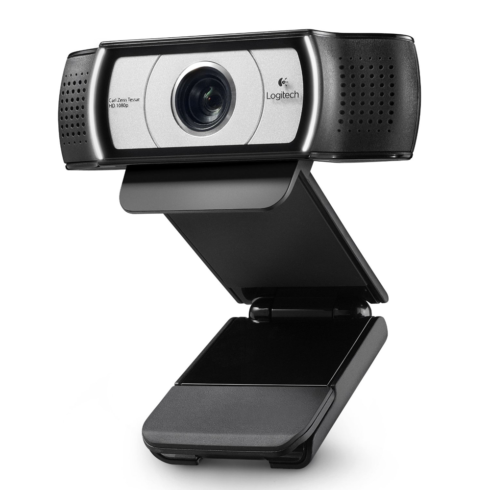 Image 3 - Original Logitech C930e HD Smart 1080P Webcam with Cover for Computer Zeiss Lens USB Video camera 4 Time Digital Zoom Web cam-in Webcams from Computer & Office