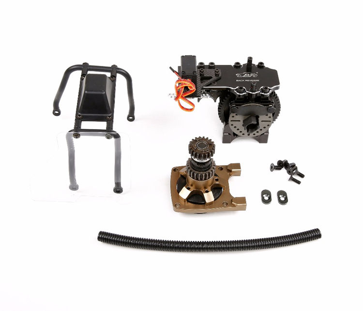 A key To Reverse Gear Completely Set for 1/5 Rovan LT SLT Losi 5ive-t DDT 5T Rc Car Upgrade Parts fid cnc alloy remote one key reverse system for losi 5ive t 5t losi mini wrc 1 5 rc car gas