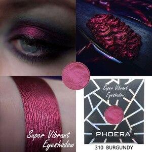 Image 5 - PHOERA Morbido Glitter Eyeshadow Pallete Metallic Opaco Naturale Ombretto Shimmer Polvere di Cosmetici del Pigmento di Trucco Lunga Durata 2019