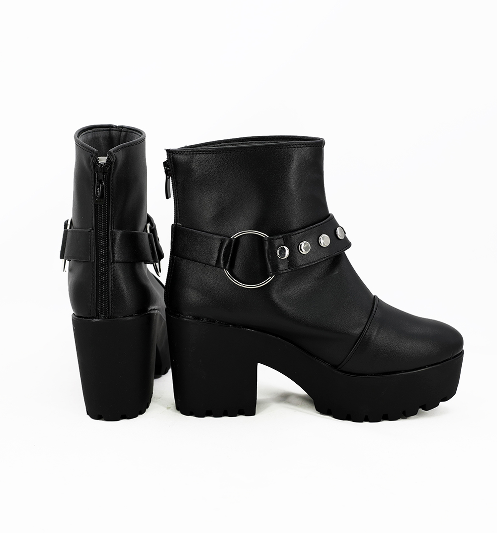 Fate Grand Order FGO Bedivere Cosplay Boots Shoes Custom Made