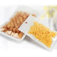10000 pcs/lot 12*20cm Transparent Self Seal Zipper Plastic Retail Packaging poly Bag Gift Wrap Phone Liner Package bag Food Grad