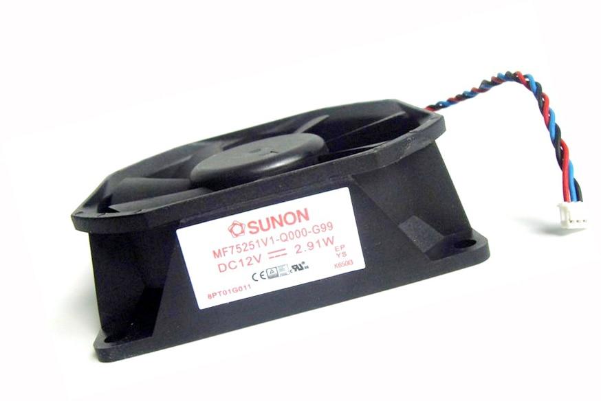 Original SUNON MF75251V1-Q000-G99 DC 12V 2.91W Projector Cooling FanOriginal SUNON MF75251V1-Q000-G99 DC 12V 2.91W Projector Cooling Fan