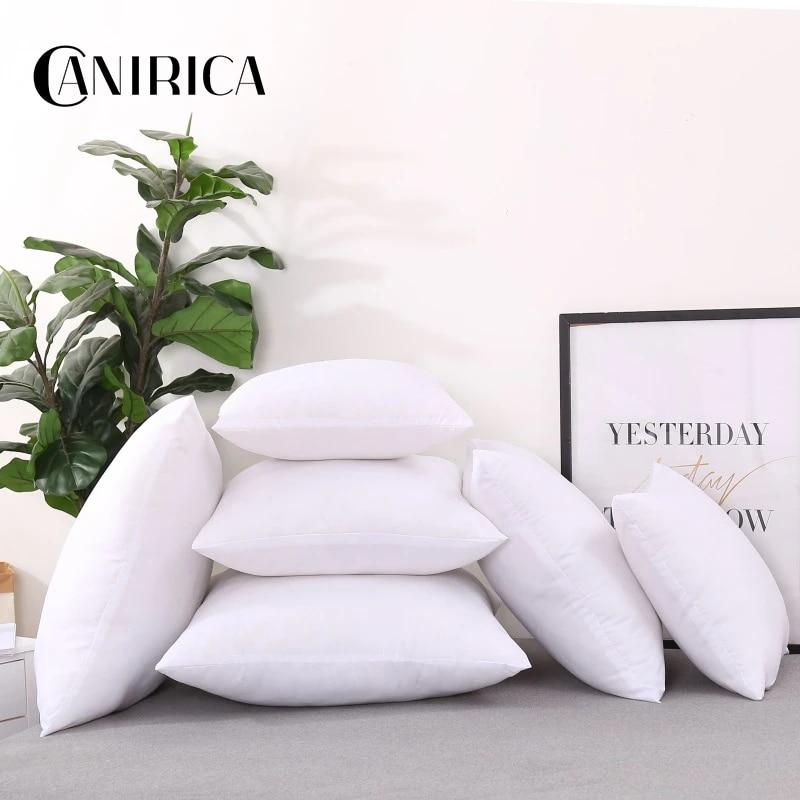 canirica 4 size cushion filling white cushion insert soft for sofa throw pillow core seat chair cushion filler home decorative