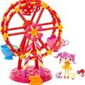 New Original MGA Button Eyes Mini Lalaloopsy Ferris Wheel Baby&kid Favorite Gifts Girls Brinquedos Play House Toys