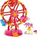 Original novo Olhos de Botão MGA Mini Lalaloopsy Ferris Wheel Presentes Meninas Brinquedos Brincar de Casinha Brinquedos Do Bebê & kid Favorita