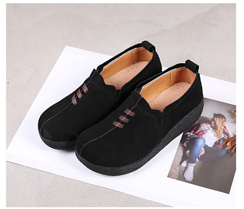 LL 3022-2019 Spring Autumn Women Wedge Shoes-4