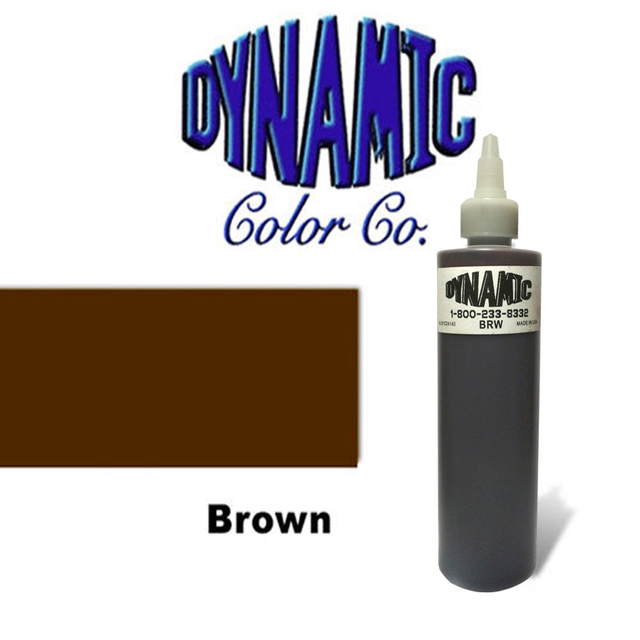 Brown Color Dynamic Pigment Kit Permanent Tattoo Ink Dynamic Tattoo Ink 250ML/ 12oz / 330g/Bottle Black Color Tattoo Pigment kit