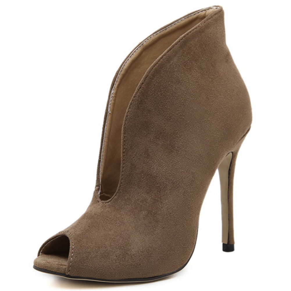 все цены на shoes woman pumps sexy women high heels 2018 open toe high heels ladies fashion brand nude wedding platform shoes