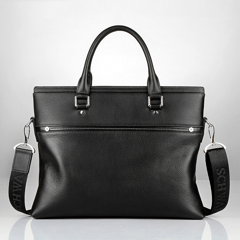 2019 New Mens Genuine Leather Business Casual Computer Bag Solid Color Handsome Business Office Travel Large Capacity Handbag2019 New Mens Genuine Leather Business Casual Computer Bag Solid Color Handsome Business Office Travel Large Capacity Handbag