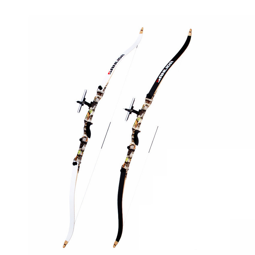 Camouflage Professionl Sport Takedown Recurve Bow Hunting Target Shooting Archery Shooting Practice 66 68 70 20lbs 30lbs 40lb wholesale archery equipment hunting carbon arrow 31 400 spine for takedown bow targeting 50pcs