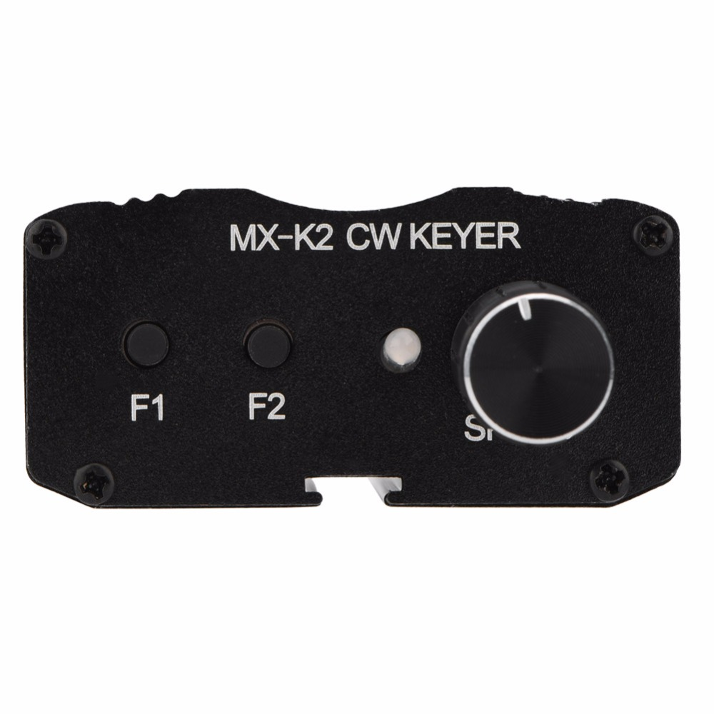 2018 CW Auto Memory Key Contoller Morse Code Keyer For Ham Radio Amplifier JS