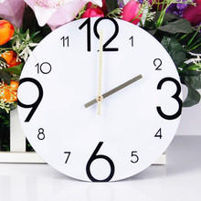 New Wall Clocks Acrylic 3D Creative Clock Fashion All Digital DIY Home Decoration Decorative Modern Design
