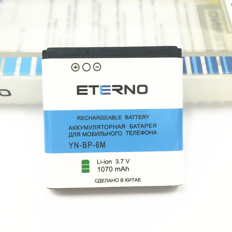 Eterno 1070mAh <font><b>Mobile</b></font> <font><b>Phone</b></font> BP-6M BP6M Battery for <font><b>Nokia</b></font> N93 N73 N77 <font><b>6233</b></font> 9300 6288 3250 6151 6234 6280 9300I 3250 Good Quality image