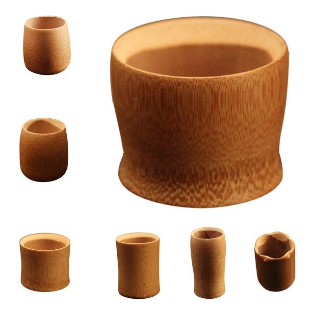 Naturliche Bambus Trinken Tasse Tee Wasser Bier Vintage Kaffee Saft