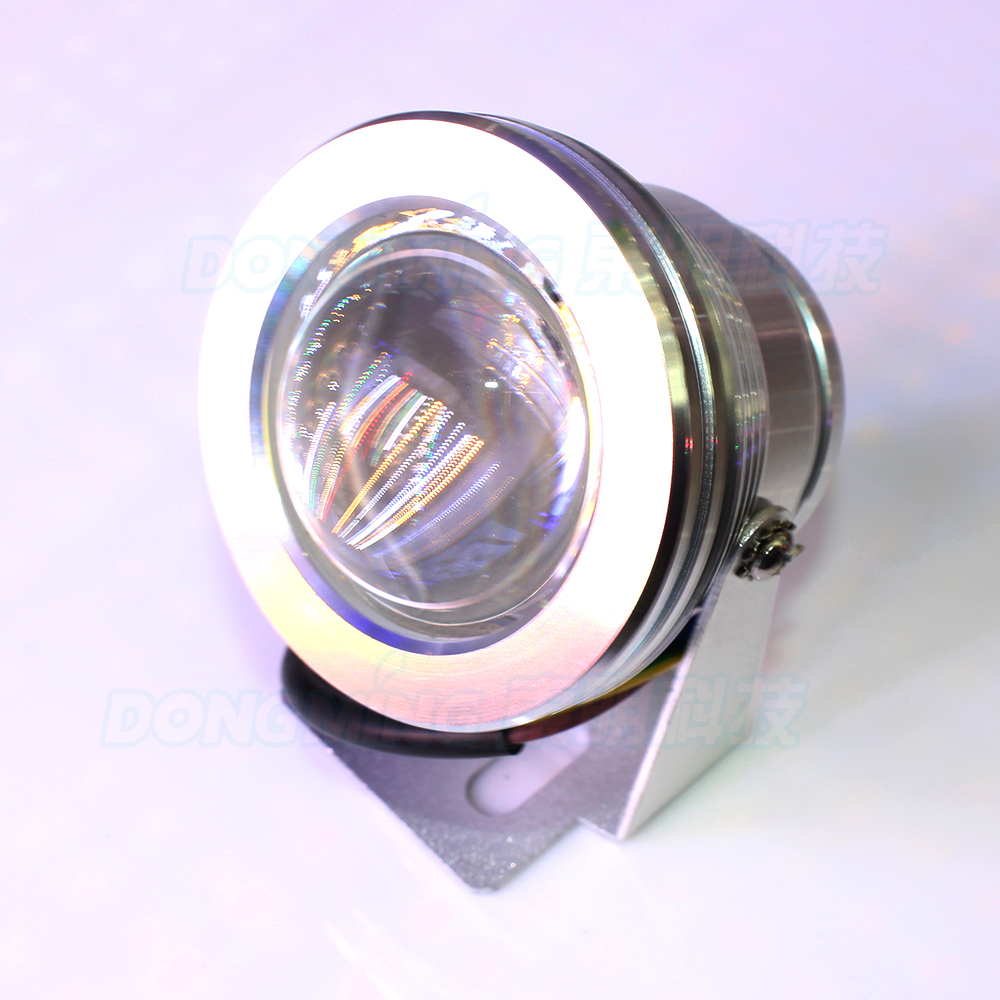 6pcs/pack Convex Lens underwater led lights waterproof ip68 ... for Underwater Led Lights For Fountains  61obs