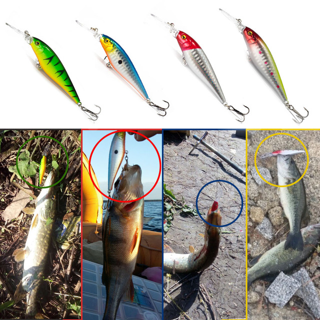 SEALURER Bait Minnow Fishing Lure.