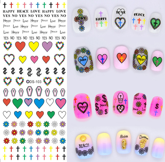 2016 the most popular water transfer printing nail sticker nails ...