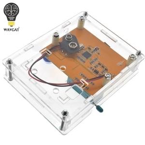Image 5 - Boîte de LCR T4 WAVGAT boîtier de boîtier de LCR T3 en acrylique transparent pour testeur de Transistor LCR T4 ESR SCR/MOS LCR T4