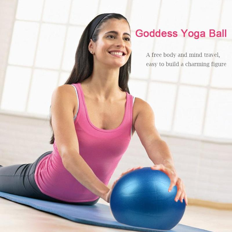 55cm1.8ft Fitness Yoga Ball PVC materials Utility Anti-slip Pilates Balance Ball Sport Fitball Fitness Accessories Tools