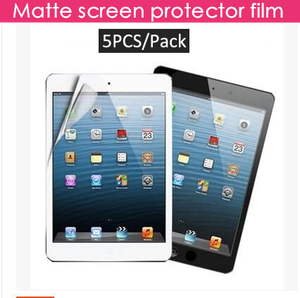 5PCS/Pack high quality matte screen protector for apple new 2017 ipad pro 9.7 air 1 2 anti glare protective film cover