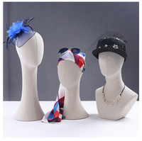 New Arrival High Quality Female Fabric Head Model Head Manikin Professional Factory In China