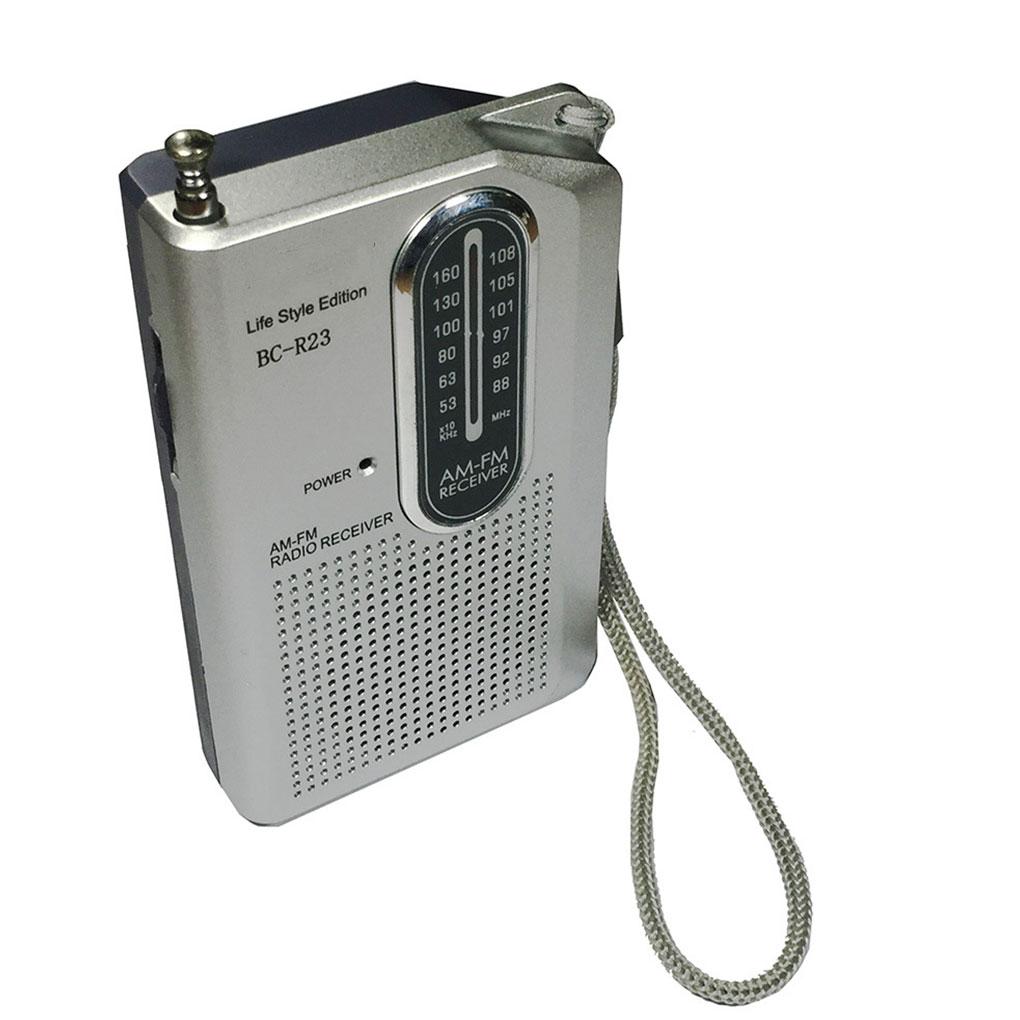 Mini Bc-r23 Bin Fm Radio Empfänger Tasche Tragbare Batterie Betrieben Musik Player Geschenke Knitterfestigkeit Tragbares Audio & Video