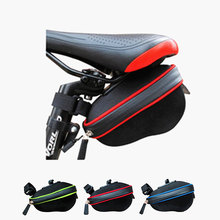 High Quality Cycling Bicycle Saddle Bag Bike Rear Tail Bag Seatpost Bags Seat Tail Packs Pouch Pockets alforjas para bicicletas