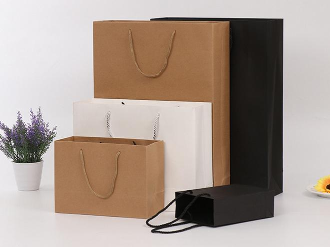 30x40x8cm cheap gift paper shopping bag,Wedding Birthday Party Gift Christmas New Year Shopping Package Bags 25 33 8cm kraft paper gift bag festival paper bag with handles fashionable jewellery bags wedding birthday party