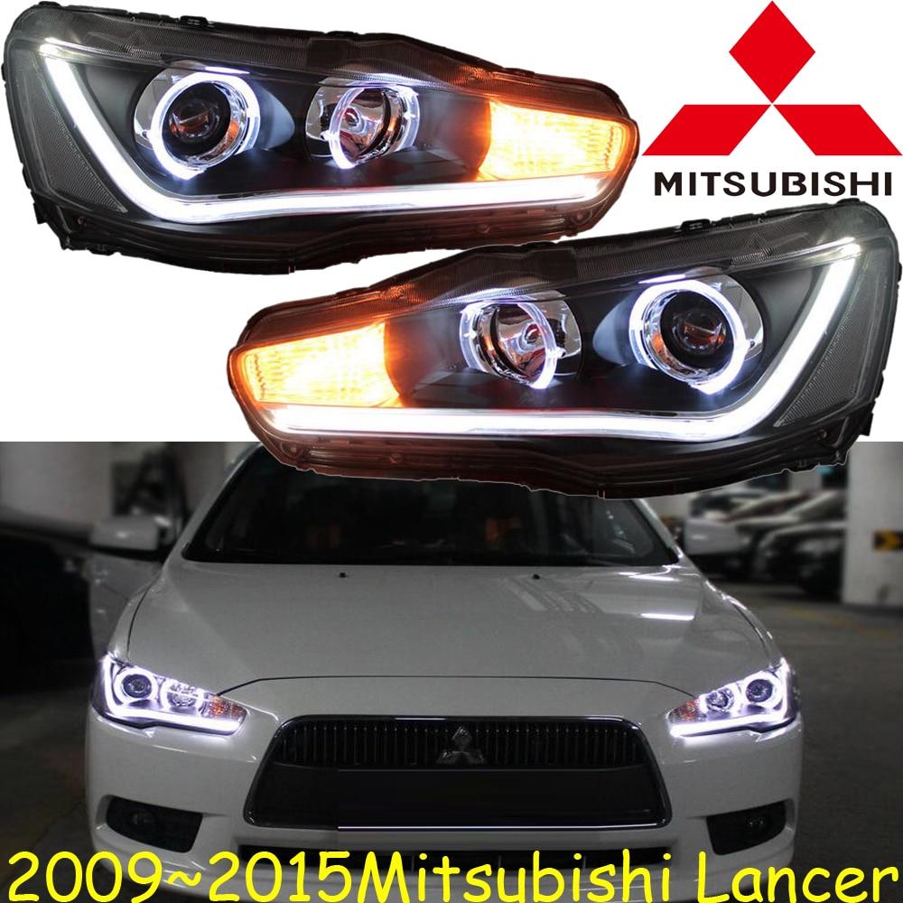 Mitsubish lancer headlight 2008 2015 free ship lancer fog light endeavor