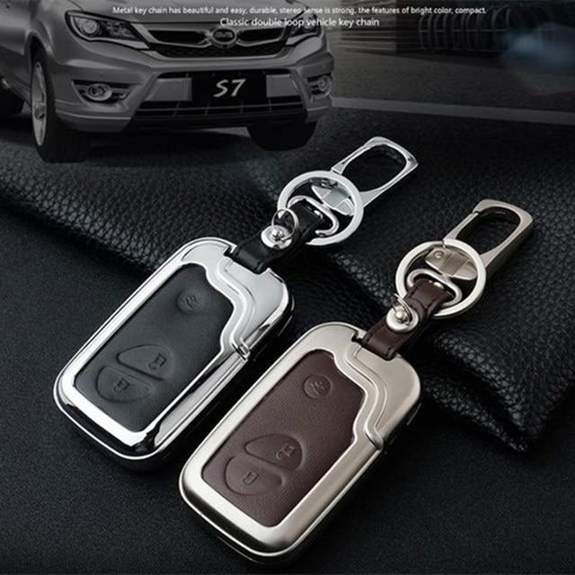 2018 New Mental Leather Design Car Key Ring For Lexus Byd Luxury