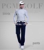 Gratis verzending pgm mannen golf doek uv-bescherming zon shirt ijs panty t-shirt lente zomer t-shirt polo ondergoed shirts