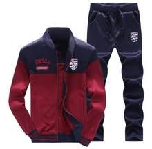 790d4e7f9e 2018 Men Sportswear Set New Autumn Suit Clothes Tracksuits Male Sweatshirts  +Pants Male Track Suits