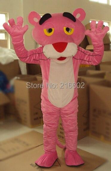 Cosplay costumes adulte rose panthère mascotte Costume ventes fantaisie robe rose panthère mascotte Costume livraison gratuite