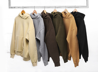 2016 Hip Hop Streetwear Hoodies Sweatshirts Pullovers Drake Kanye West Plain Fleece Oversized Kpop Men Clothes