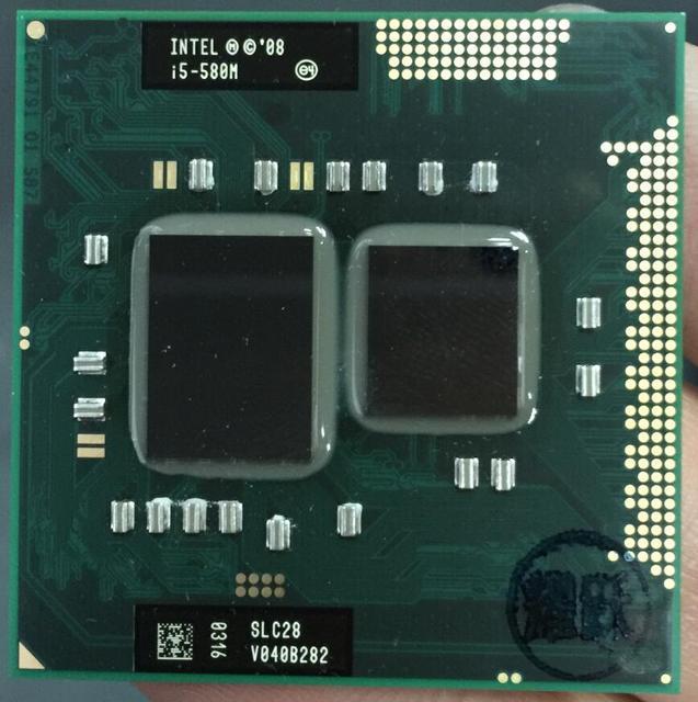 Intel Core i5-580M Bộ Vi Xử Lý i5 580 M CPU PGA988 CPU 100% làm việc đúng cách Bộ Vi Xử Lý