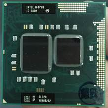 Процессор Intel Core Φ, процессор i5 580M для ноутбука, ЦП PGA988, 100% исправно работающий процессор