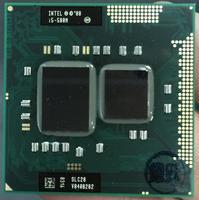 Processador intel core i5 580M processador i5 580 m portátil cpu pga988 processador 100% funcionando corretamente|processor i5|core i5-580m|i5 processor -