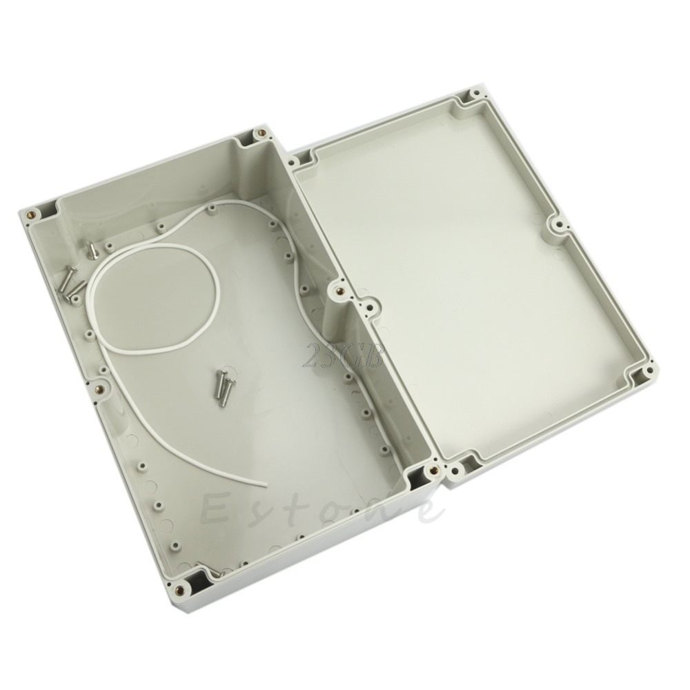 230*150*85mm Plastic Waterproof Electronic Project Box Enclosure Cover Case N24 plastic enclosure for electronic box waterproof plastic box for electronic project 200 150 100mm