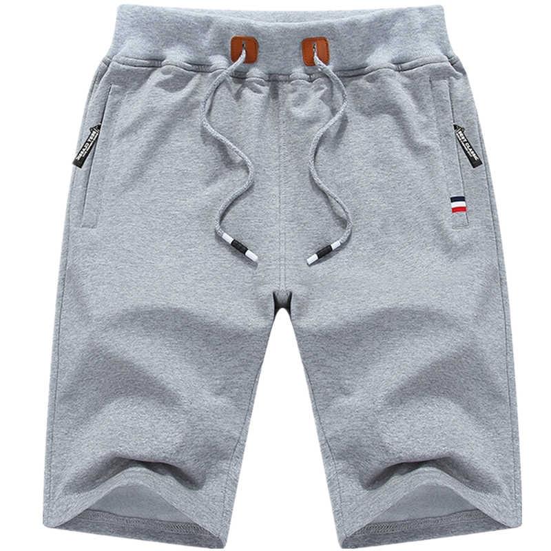 Мужские шорты кэжуал однотонные мужские шорты 5XL летние мужские s пляжные шорты мужские хлопковые повседневные мужские шорты брендовая одежда 9993