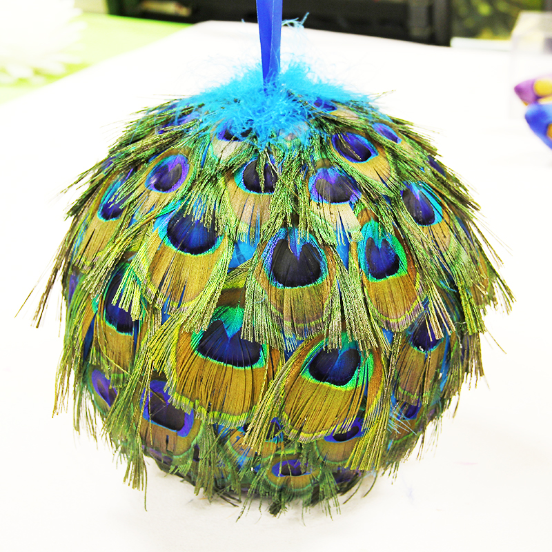 Best 28 peacock christmas decorations suppliers for Where can i buy peacock feathers craft store