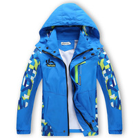 New Spring Autumn Children Boy S Jackets Coats Kids Active Clothing Double Deck Waterproof Windproof Boys