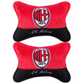 plush embroidery pillow Car Headrest Safety car seat covers pillow headrest Auto accessories Car Styling 18CM*28CM