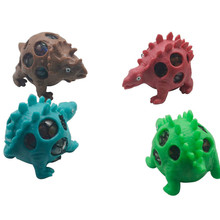 2019 Dinosaur Squishy Mesh Ball Grape Squeeze Relief Fidget Autism Stress Toys Anti Stress Dinosaur Grape Ball Kids Toys Gifts