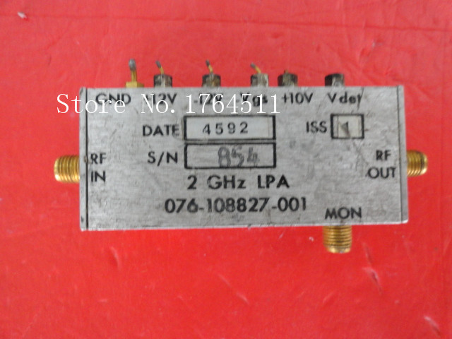 [BELLA] HARRIS 076-108827-01 2GHz 12V SMA Supply Amplifier