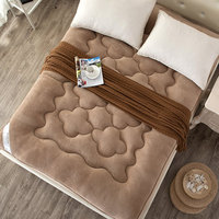 new year 1.2M Autumn and winter Imitation cashmere mattress polyester fiber filled Free shipping