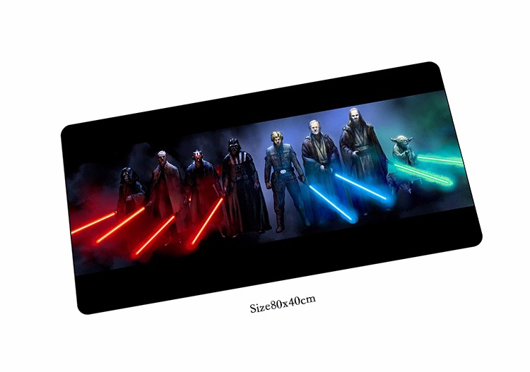 Star Wars mouse pad High-end pad to mouse notbook computer mousepad hot sales gaming padmouse gamer to laptop 80x40cm mouse mat
