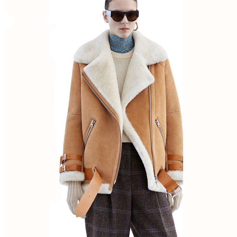 Shearling Coats Women Promotion-Shop for Promotional Shearling ...