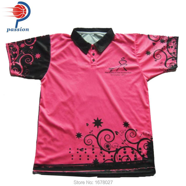 20cd02138b9fe9 Competitive Black Pink Custom Your Own Team Cricket Shirts Factory Price